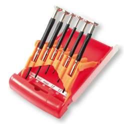 Herramientas, Jgo. 6 destornilladores de precisión