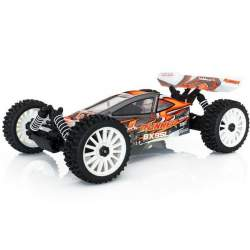 Buggy 1/8 RTR BX8 4x4 Runner naranja tipo SL escobillas - Hobbytech