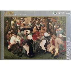 Puzzle 1500 piezas, El baile de bodas , Bruegel - Ricordi