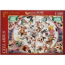 Puzzle 1500 piezas, Zodiac, Andreas Cellarius - Ricordi