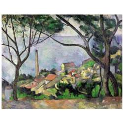 Puzzle 2000 piezas L'Estaque 1878, Paul Cézanne - Ricordi