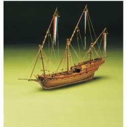 Maqueta naval Chebeck Frances 1/49 - Mantua Model