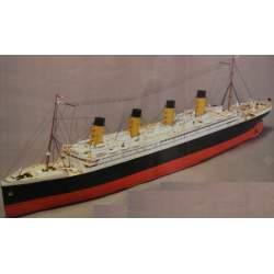 Maqueta Naval RMS Titanic 1/200 (part 1) - Mantua Model