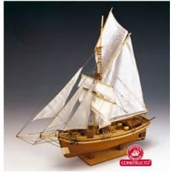 Maqueta naval Gjoa, Amundsen 1/64 - Constructo