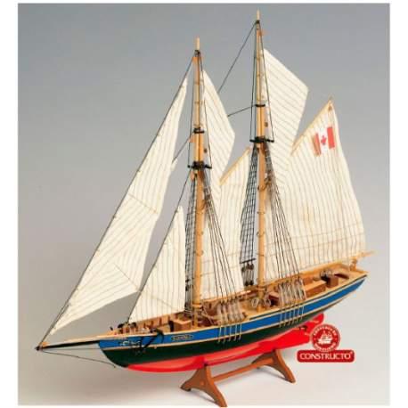 Maqueta naval Bluenose II, goleta 1/135