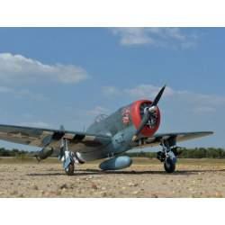 Avión P47 Thunderbolt - 2075mm EP/GP - Black Horse