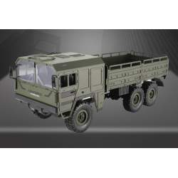 Camión Militar MAN KAT-1 Q64 HELIFAR 1/16 6x6 + 2 Baterías - JJRC