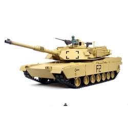 Tanque RC U.S. M1A2 Abrams 1/16 V6.0 2.4G - Heng Long