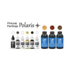 Set de pinturas y barniz para barco Polaris
