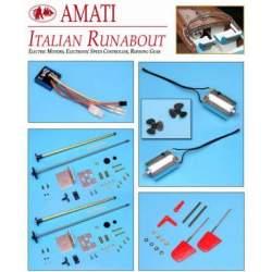 Kit de motorización Lancha motora RIVA AQUARAMA - Amati