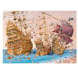 Puzzle 1000 Piezas Corsarios, Guillermo Mordillo - Heye