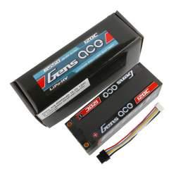 Batería de lipo Gens ace 6550mAh 15.2V 120C 4S1P Carcasa dura
