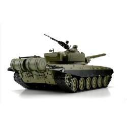 Tanque RC ruso T72 1/16 Airsoft V6.0 2.4G 3939-1 Transmisión de acero - Heng Long