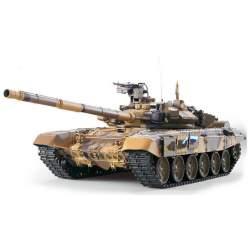 Tanque RC 1/16 Ruso T-90 Airsoft Emisora 6.0V 2.4G, Con piñones de acero - Heng Long