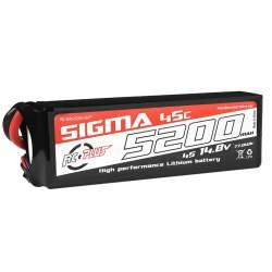 Batería Li-Po Sigma 45C 5200 mAh 14.8V XT-60 - RC Plus