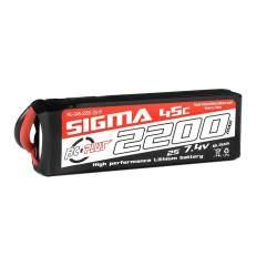Batería Li-Po Sigma 45C 2200 mAh 2S1P 7.4V XT-60