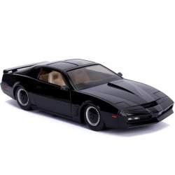 Coche de colección K.I.T.T El coche Fantástico 1/24 (Knight Rider) con luces.