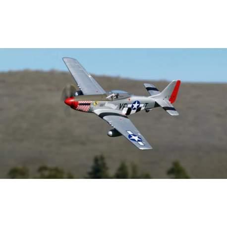 Avión RC P-51 Mustang - 1100mm - PNP - w/ Electric Retracts - Arrows
