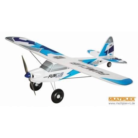 Avión FunCub NG RR Azul - Multiplex