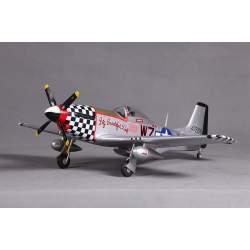 Avión P-51D Mustang V2 PNP 800mm brushless - FMS