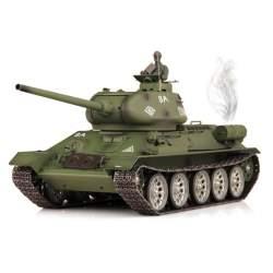 Tanque T-34 V6.0 1:16 cadenas, ruedas y transmisiones metálicas Airsoft 2.4G - Heng Long