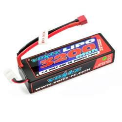 Batería Lipo 7,4V 3200mAh 40C Hardcase (T-Dean)-Voltz