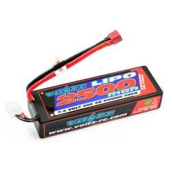 Batería Lipo 7,4V 2500MAH 40C (Hard Case) - Voltz