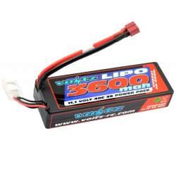 Batería Lipo 11,1V-3600mAh 40C (T-Dean) (Hard Case)
