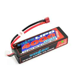 Batería Lipo 7,4V 4000mAh 50C Hardcase (T-Dean) - Voltz