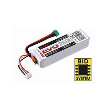 Batería Roxxy Evo 11.1v, 3-2600 40C BID-CHIP - Multiplex