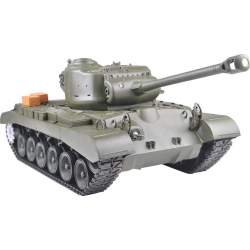 Tanque RC M26 Pershing Snow Leopard 1/16 - Heng Long