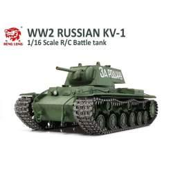 Tanque RC Ruso KV-1 CADENAS Y TRANSMISION METAL 1/16 - Heng Long