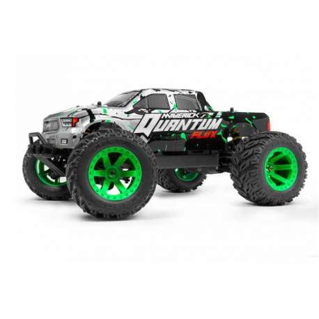 Quantum MT Flux 1/10 4WD Monster Truck - Silver - Maverick