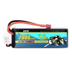 Batería de lipo 7,4V 7000Mah 50C Hardcase - Dean