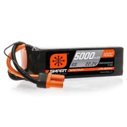 Batería Lipo SMART 5000mAh 22.2V 6S 100C IC5
