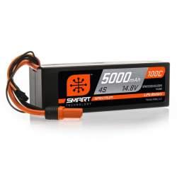 Batería Lipo SMART 5000mAh 14.8V 4S 100C Hardcase IC5
