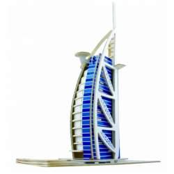 Puzzle 3D. Torre de Dubai en madera - Cebekit