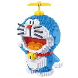 Construcción de bloques, Doraemon 1570 piezas - Loz