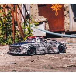 Camioneta Rc Infraction 1/7 Brushless 6S 4WD RTR Gris - Arrma