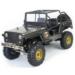 Rock Crawler RGT EX86010-CJ 1/10 2.4G 4x4 RTR - NEGRO