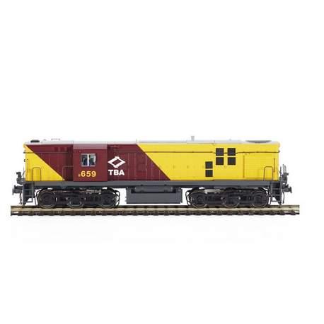 Locomotora Diesel ALCO 654 TBA DCC Sonido