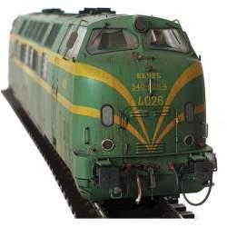 Locomotora 4026 envejecida - Mabar