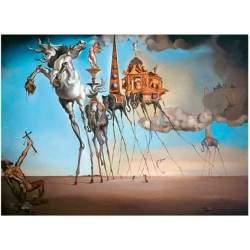 Puzzle 2000 La Tentación de San Antonio. Dalí - Ricordi.