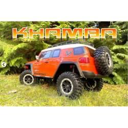 Crawler 1/10 CR3.4 KHAMBA ORANGE RTR - Absima