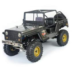 Crawler Jeep 4X4 RTR 1/10 Waterproof Gris Oscuro - RGT