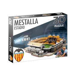 Maqueta Estadio 3D MESTALLA - Con Luz