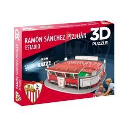 Maqueta 3D Estadio SEVILLA CF - Con Luz