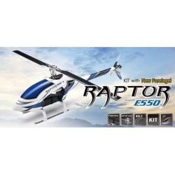 Helicoptero Raptor E550 KIT. Nuevo fuselaje - Thunder Tiger