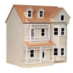 Casa de muñecas London Crema
