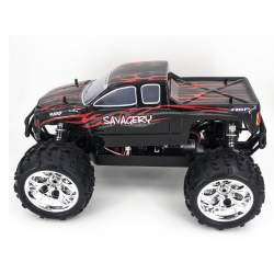 Coche Monster Truck SAVAGERY Brushless 1:8, ROJO - HSP